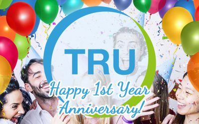 Happy 1st Year Anniversary For TRU!