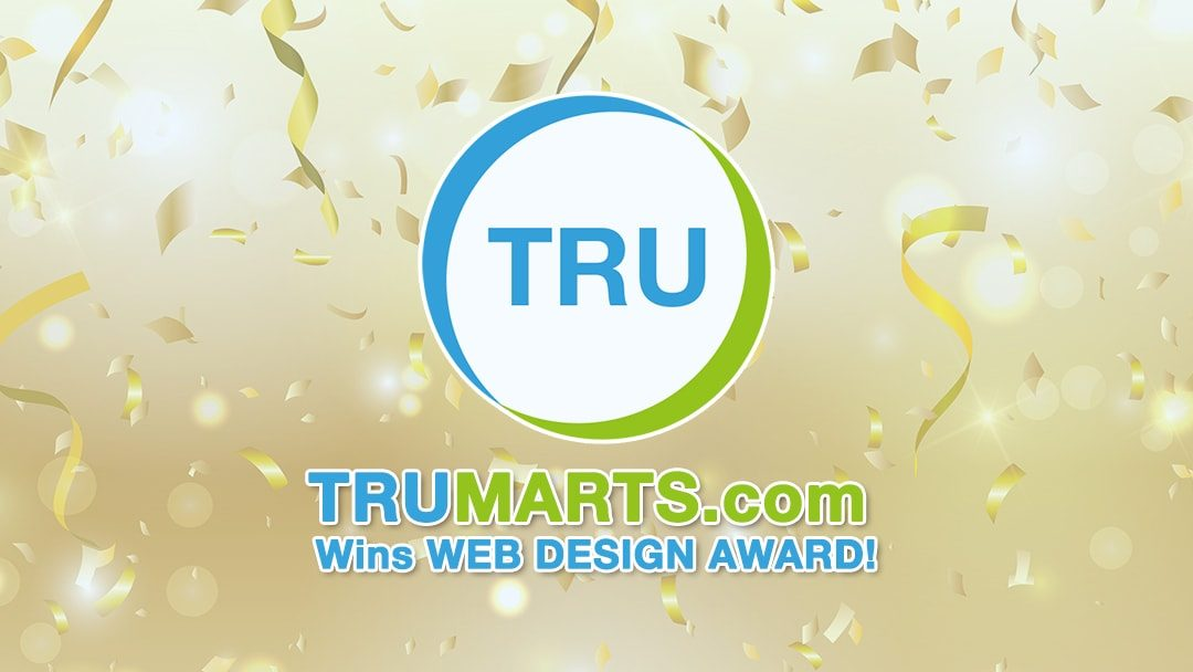 TRUMARTS.com Wins Web Award