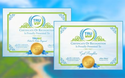 TRUVIP & TRUMVP Winners For January-March 2018