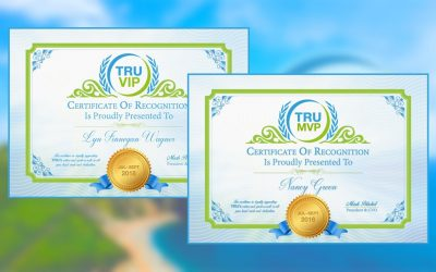 TRUVIP & TRUMVP Winners For July-September 2018